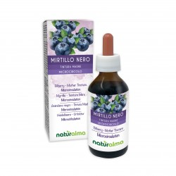 Mirtillo Nero Tintura madre 100 ml liquido analcoolico...