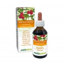 Mirtillo Rosso Gemmoderivato 100 ml liquido analcoolico -...