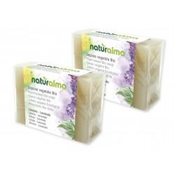 Sapone vegetale al Limone e Lavanda BIO (100 g x 2) -...