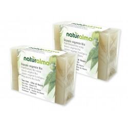 Sapone vegetale al Tea Tree e Olio di Neem BIO (100 g x 2) -...