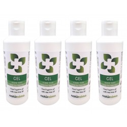 Gel Igiene Mani con Tea Tree oil (100 ml x 4) -...